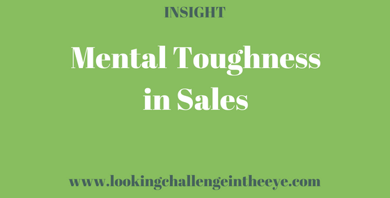 Mental Toughness in Sales